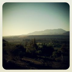 Valle del Limarí. Viste desde Las Brisas. Chile, Celestial, Mountains, Sunset, Instagram, Nature, Travel, Outdoor, Sunsets