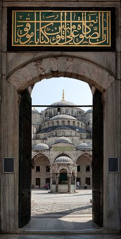 The Blue Mosque, Istanbul, Turkey www.yourcruisesou… The Blue Mosque, Istanbul, Turkey www. Islamic Architecture, Beautiful Architecture, Art And Architecture, Beautiful Mosques, Beautiful Places, Blue Mosque Istanbul, Turkey Travel, Islamic Pictures, Place Of Worship