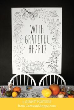 Draw Together Thanksgiving Set