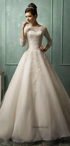amelia-sposa-2014-wedding-dresses-full-28 - Belle The Magazine