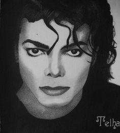 Michael Jackson drawing by xTelha, via Flickr