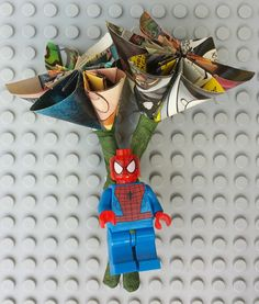 Genuine LEGO® Comic Book GAMER Boutonnière by Brickreate on Etsy $24.99