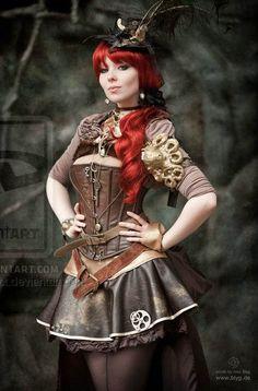 steampunk-girls: SteamPunk Girl
