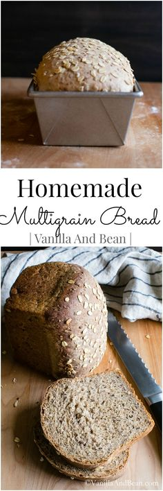 An easy recipe for the new or experienced bread baker #Vegan #Vegetarian | Vanilla And Bean