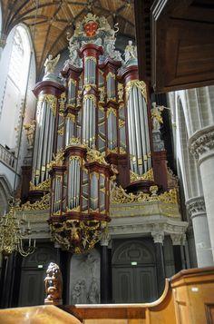Splendid Müller Organ at St. Bavo Haarlem