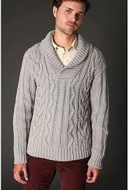 Resultado de imagen para sweater tejido para caballero