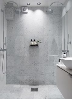 banyo Double Shower Design Ideas as if Bath Under Heavy Rain – Kitchen Remodeling Ba Laundry In Bathroom, Bathroom Renos, Budget Bathroom, Bathroom Renovations, Bathroom Interior, Small Bathroom, Bathroom Marble, Shower Bathroom, Bathroom Goals