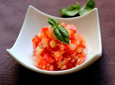 Invitations aux voyages culinaires: G96 - Granité de Rougail De Tomate