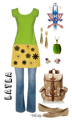 """Layla from ""Sky High"""" by le-piano-argent ❤ liked on Polyvore featuring MIA, Chico's, Wild Pair, Miu Miu, La Petite Robe di Chiara Boni, women's clothing, women, female, woman and misses"