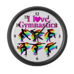 SUPER STAR GYMNAST Large Wall Clock http://www.cafepress.com/sportsstar/12219681 #Gymnastics  #Gymnast  #IloveGymnastics   #WomensGymnastics  #USAGymnastics #Gymnastgift #Gymnastideas #Gymnasticsgifts #Gymnasticsinspiration