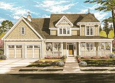 Beautifully Trimmed Farmhouse House Plan - 39264ST | 2nd Floor Master Suite, Butler Walk-in Pantry, CAD Available, Den-Office-Library-Study, Farmhouse, PDF, Traditional, Victorian, Wrap Around Porch | Architectural Designs