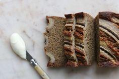 THE BEST NUT BUTTER BANANA BREAD – Eleanor Ozich