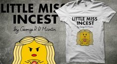Game of Thrones and Mr Men. Mashup on Qwertee for voting! This is too funny!