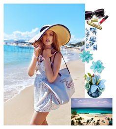 """summer"" by elene-chekurishvili ❤ liked on Polyvore featuring Carole and Sonix"