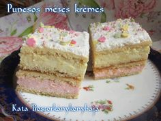 Puncsos mézes krémes (Gluténmentesen is) Thing 1, Vanilla Cake, Recipes, Food, Paleo, Rezepte, Essen, Recipe, Yemek