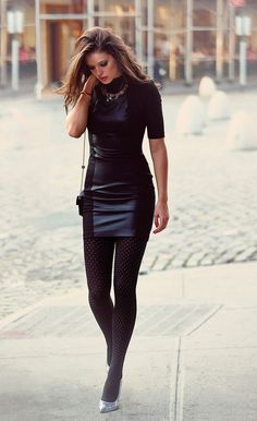 IMG_2358 Sexy leather miniskirt   por Leather fashion fashionista
