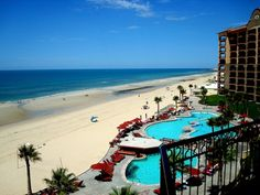 Sonoran Sea Resort - Rocky Point - Puerto Penasco, Mexico.  This is a great view from a balcony of a condo at the Sonoran Sea Resort in Rocky Point.  We are glad to have the opportunity to help share this great photo.