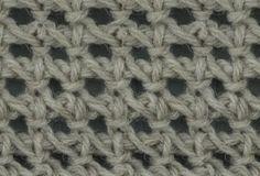 Tunisian Crochet: Tunisian Chain Lace