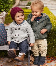 I REALLY want to go shopping for my boys when I look at this adorable picture.