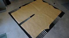 Patrón en una pieza para nuestros monos oversize. 4 metros de tela
