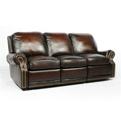 Barcalounger 356600540741 Vintage Reserve Premier Leather Reclining Sofa