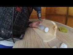 Как сделать дырку в стеклянной бутылке? - YouTube