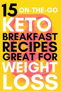 If you get tired of eating the same keto breakfast ideas like I do, these recipes for those on the go will help you switch things up. You don't have to compromise eating healthy or sticking to your low carb or keto diet when you want to spice up your keto breakfast options. This list has got easy keto recipes for beginners and people short on time that need something quick and keto to eat. The stuffed keto biscuits and 5 ingredient keto granola are my favorite healthy go-tos on this list. Healthy Low Carb Breakfast, Ketogenic Breakfast, Clean Eating Recipes For Weight Loss, Healthy Eating Recipes, Breakfast Options, Breakfast Recipes, Dairy Free Keto Recipes, Keto Granola, Bacon Egg And Cheese