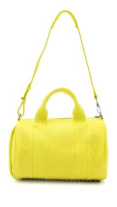 f5cdfd991b Alexander Wang Rocco Neon Duffel Bag and the one in the bright blood  orange. BLAHHHH