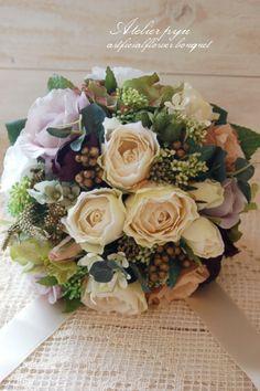 造花のお花屋さん ナチュラルスタイルウエディングブーケ・ブートニア・ヘアアクセサリー Atelier*pyu