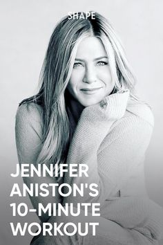 Daily Exercise Plan, Jennifer Aniston Workout, Yoga Fitness, Health Fitness, 10 Minute Workout, Celebrity Workout, Workout Plans, Health And Beauty Tips, Work Outs