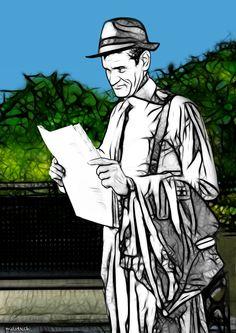 """El miedo es mutuo. """"... El hombre que tiene en sus manos nuestro destino llegará, como cada mañana, afeitado y aseado; leyendo los titulares del periódico mientras camina."""""""