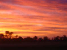 sunset in Oz