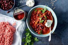 Unser beliebtes Rezept für Chili con Carne mit Zimt und mehr als 55.000 weitere kostenlose Rezepte auf LECKER.de.