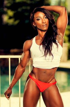 Fitness girl Ebony