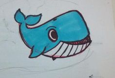 My whale sketch :)