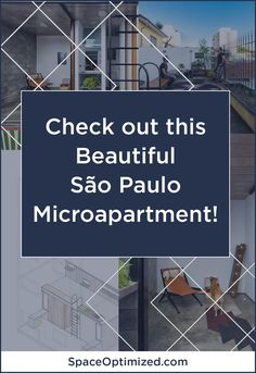 An Annex Gave This São Paulo Microapartment More Breathing Room Interior Decorating, Interior Design, Annex, Smart Design, Tiny House Design, Apartment Therapy, Small Spaces, Minimalism, Contemporary