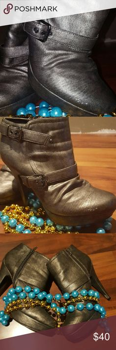 Booties GGDesign2 (free gift w/purchase) G by Guess Shoes Ankle Boots & Booties