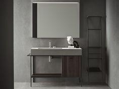 Arredo bagno completo CRAFT - COMPOSIZIONE N03 Collezione Craft by NOVELLO | design Stefano Cavazzana