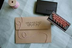 DIY stationary and then some! Really want a stamp like this!