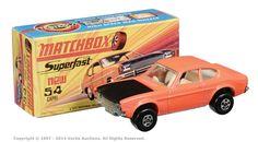 b- Matchbox Superfast Ford Capri Metal Toys, Tin Toys, Amazing Toys, Old School Toys, Ford Capri, Matchbox Cars, Diecast Model Cars, Small Cars, Cool Toys
