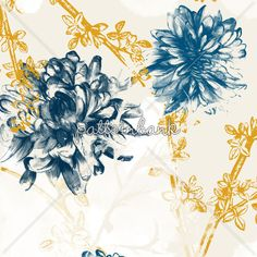 Watercolour Floral by Lucy Wood
