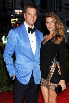 Power Couple - Tom & Gisele------ Mr. & Mrs. GOAT