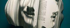 Busts / Portraits carved out of Books \ DESIGNER: Van Wanten Etcetera #Art