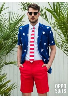 OppoSuits Men s Costume Stars American Flag Suit e892df445e3