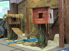 """Alternate Option for The Overlook, from Lifeway's Preview Event in Fort Worth, TX.  Image Only - Google """"Mr. Mark's Classroom"""" Journey off the Map VBS 2015"""
