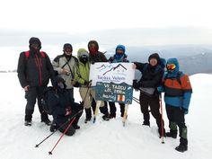Téli túra a Szár-kő csúcsra márciusban.