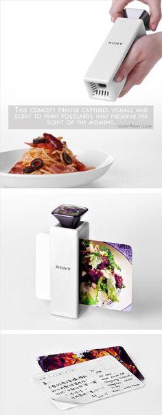 Geek Genius Ideas- Scented Postcard Printer