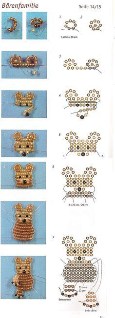 Figuurtjes maken met kralen is vrij simpel