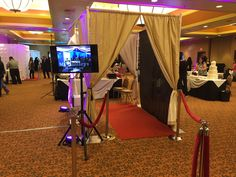 Hollywood Red Carpet Booth