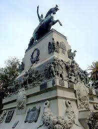 Plaza San Martin: Monumento. Córdoba, Argentina
